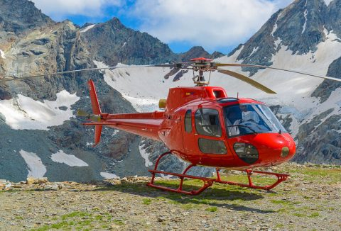 Helicopter Tour Rhaetian Alps