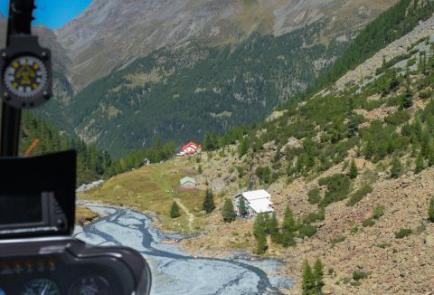 Helicopter Tours Rhaetian Alps