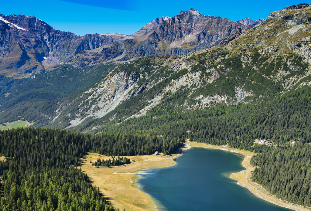 Helicopter Rides Rhaetian Alps