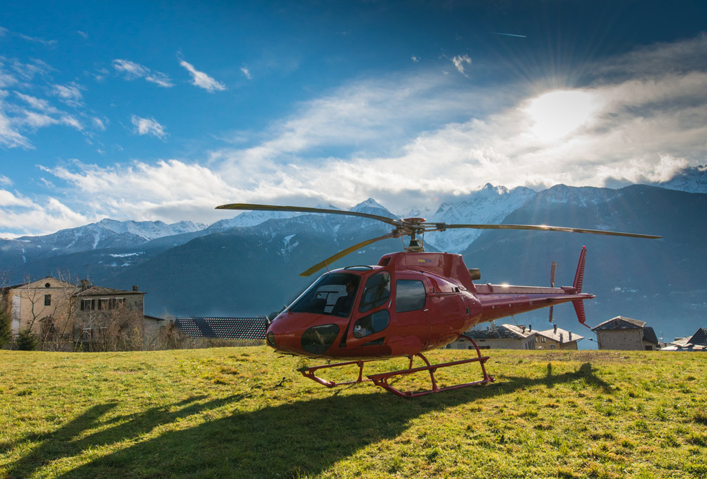 Helicopter Tours in Blessed Valley