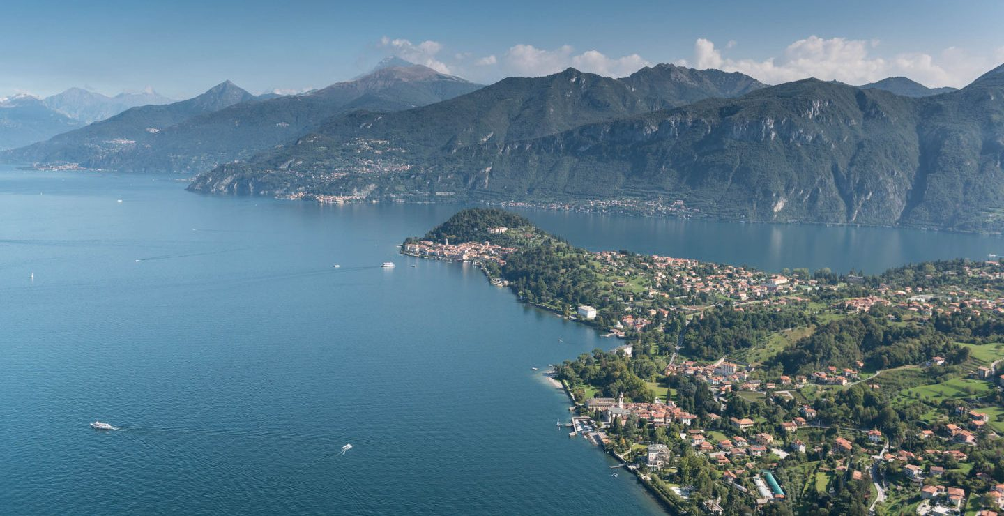 Helicopter Tour in Como Lake