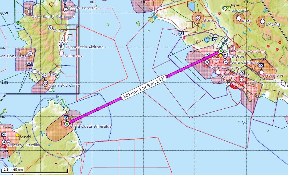 Helicopter Rome to Olbia or Porto Cervo Heli Transfers Charters