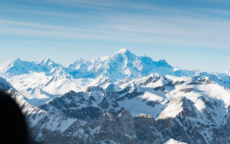 Experience in Courmayeur Helicopter