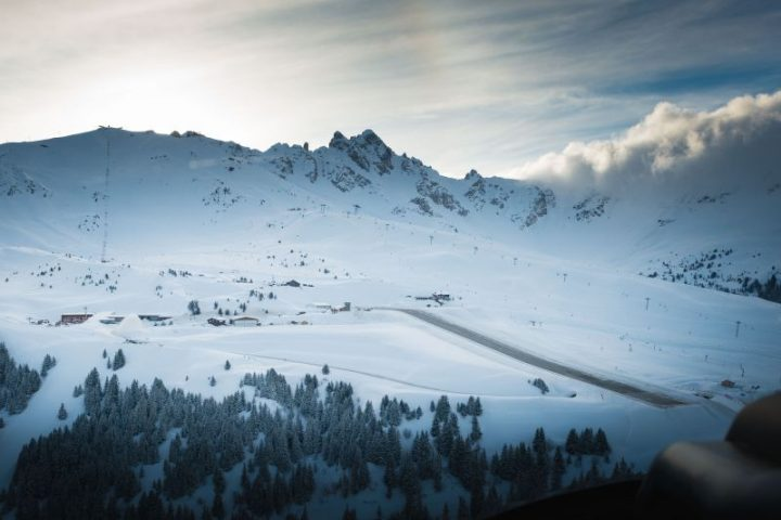 Helicopter Tour in Courchevel