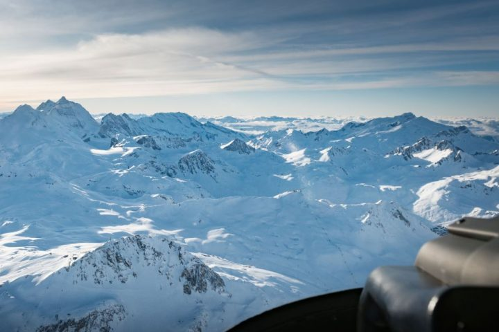 Helicopter Tour Megeve