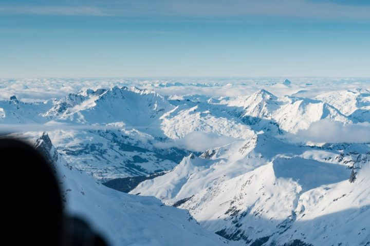 Helicopter Ride French Alps