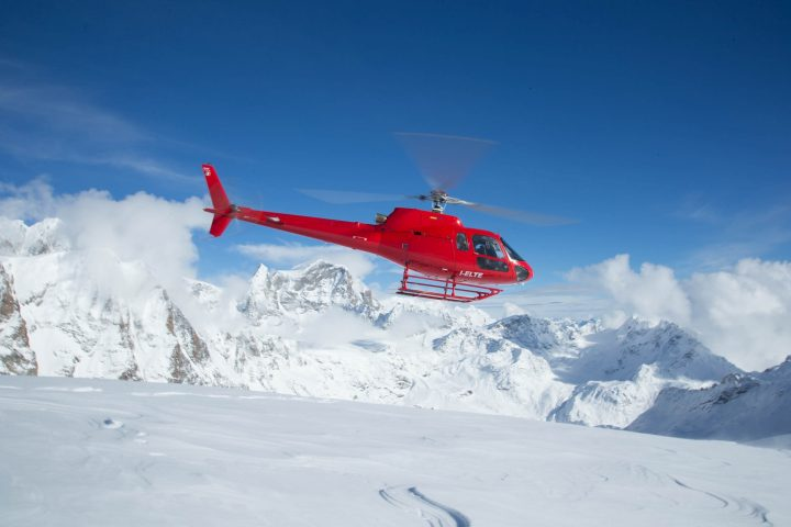 Helicopter St Moritz