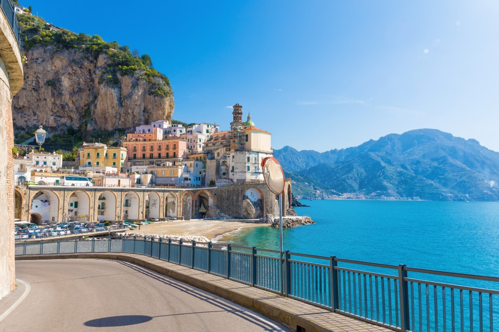 Helitaly Supercar Driving Experience Amalfi Coast