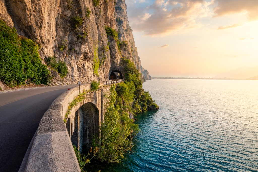 Helitaly Supercar Driving Garda Lake