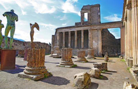 Helicopter Tour Pompeii